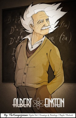 en honor a albert einstein dioses